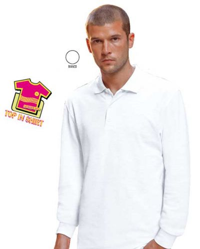 POLO TOP IN SHIRT