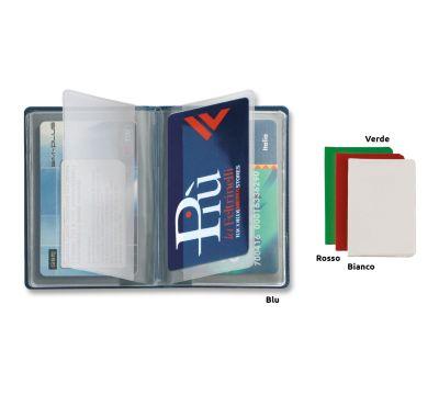 A011 CUSTODIA CARDS IN PVC