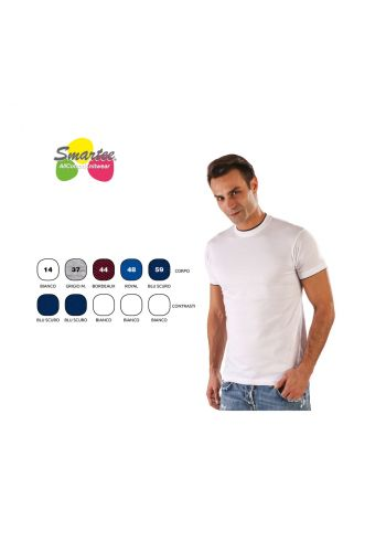 T-SHIRT DOUBLE ROUND NEK ADULT